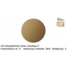 Stekla LST Bluelightfilter Silver Antifog H