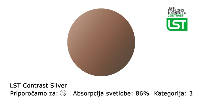 Stekla LST Contrast Silver