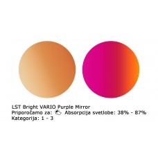 Stekla LST Bright Vario Purple Mirror