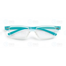 Bralna očala TRANSPARENT BLUE