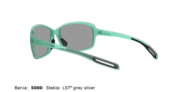 Sportna Ocala Evil Eye Basou E018 75 5000 Mint Shiny LST Grey Silver Back