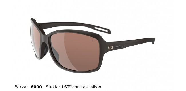 Sportna Ocala Evil Eye Basou E018 75 6000 Dark Brown Matt LST Contrast Silver Side