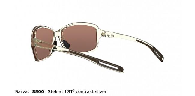 Sportna Ocala Evil Eye Basou E018 75 8500 Ivory Transparent LST Contrast Silver Back