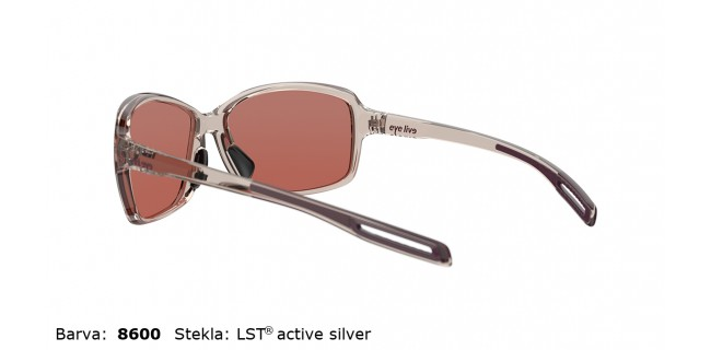 Sportna Ocala Evil Eye Basou E018 75 8600 Rose Transparent LST Active Silver Back