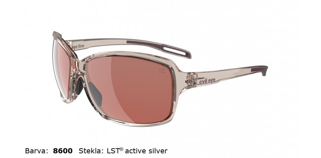 Sportna Ocala Evil Eye Basou E018 75 8600 Rose Transparent LST Active Silver Side