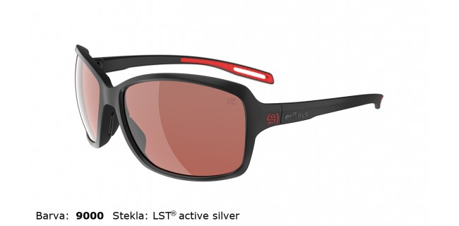 Sportna Ocala Evil Eye Basou E018 75 9000 Black Matt LST Active Silver Side