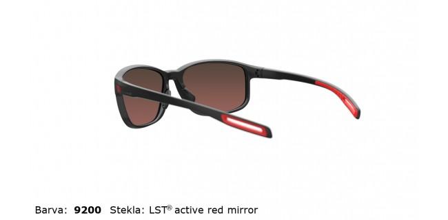 Sportna Ocala Evil Eye E021 75 9200 EE Black Matt LST Active Red Mirror Back