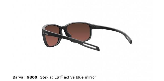 Sportna Ocala Evil Eye E021 75 9300 EE Black Matt LST Active Blue Mirror Back