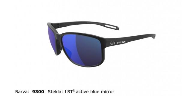 Sportna Ocala Evil Eye E021 75 9300 EE Black Matt LST Active Blue Mirror Side