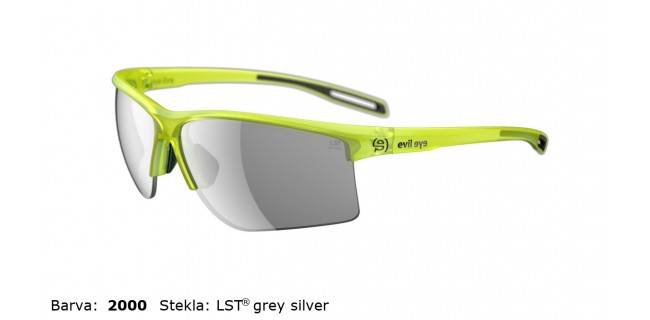 Sportna Ocala Evil Eye Epyx Y E012 75 2000 Yellow Trans Matt LST Grey Silver BG White Sid