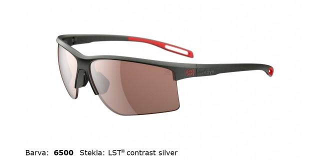 Sportna Ocala Evil Eye Epyx Y E012 75 6500 Dark Olive Met LST Contrast Silver BG White Sid