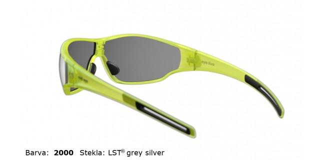 Sportna Ocala Evil Eye Fusor E006 75 2000 Yellow Trans Matt LST Grey Silver BG White Back