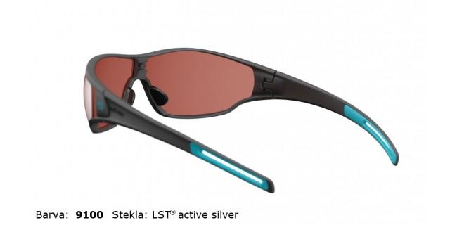 Sportna Ocala Evil Eye Fusor E006 75 9100 Black Matt Turquoise LST Active Silver BG White Back