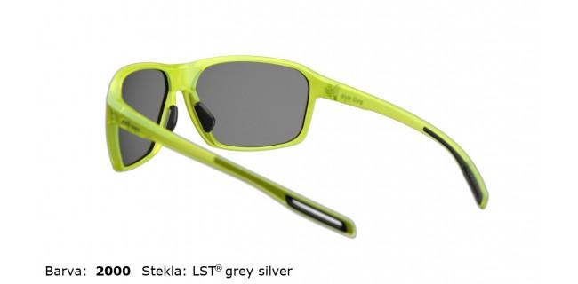 Sportna Ocala Evil Eye Nook E011 75 2000 Yellow Trans Matt LST Grey Silver BG White Back