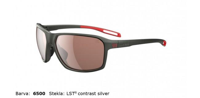 Sportna Ocala Evil Eye Nook E011 75 6500 Dark Olive Met LST Contrast Silver BG White Sid