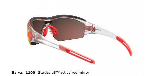 Sportna Ocala Evil Eye Trace Pro E001 75 1100 EE Clear Transparent LST Active Red Mirror Side