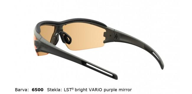 Sportna Ocala Evil Eye Trace Pro E001 75 6500 Dark Olive Met LST Bright Vario Purple Mirror BG White Back