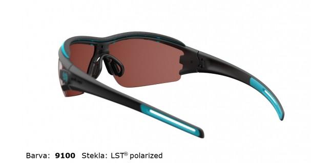 Sportna Ocala Evil Eye Trace Pro E001 75 9100 Black Matt LST Polarized BG White Back
