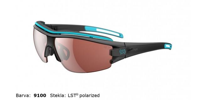 Sportna Ocala Evil Eye Trace Pro E001 75 9100 Black Matt LST Polarized BG White Side