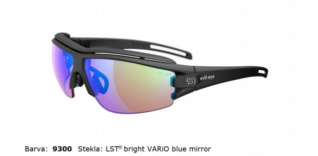 Sportna Ocala Evil Eye Trace Pro E001 75 9300 EE Black Matt LST Bright Vario Blue Mirror Back