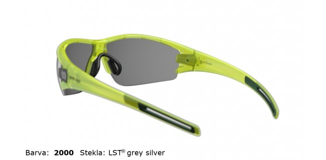 Sportna Ocala Evil Eye Trace E002 75 2000 Yellow Trans Matt LST Grey Silver BG White Back