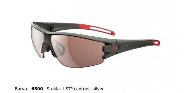 Sportna Ocala Evil Eye Trace E002 75 6500 Dark Olive Met LST Contrast Silver BG White Sid