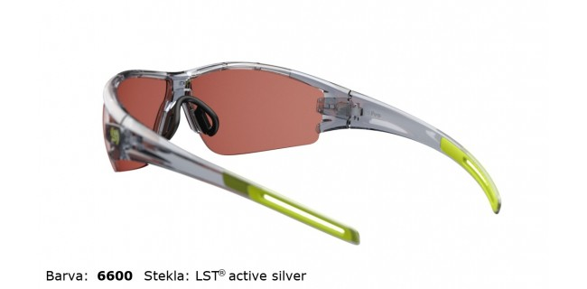 Sportna Ocala Evil Eye Trace E002 75 6600 Grey Transparent LST Active Silver BG White Back