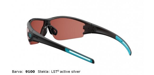 Sportna Ocala Evil Eye Trace E002 75 9100 Black Matt Turquoise LST Active Silver BG White Back