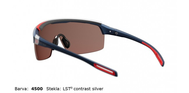 Sportna Ocala Evil Eye Traileye Pro E016 75 4500 Navy Metallic LST Contrast Silver BG White Back