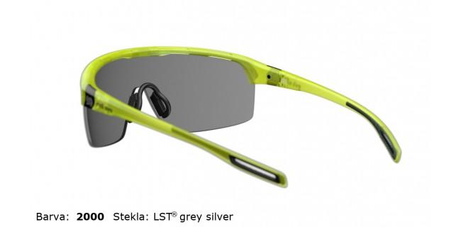 Sportna Ocala Evil Eye Traileye E017 75 2000 Yellow Trans Matt LST Grey Silver BG White Back