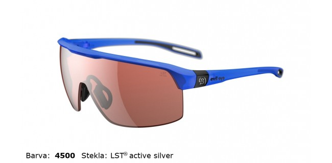Sportna Ocala Evil Eye Traileye E017 75 4500 Blue Trans Matt LST Active Silver BG White Sid