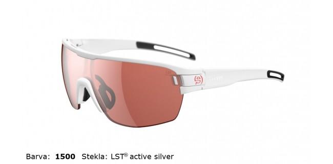 Sportna Ocala Evil Eye Vizor Hr E010 75 1500 White Matt LST Active Silver BG White Sid