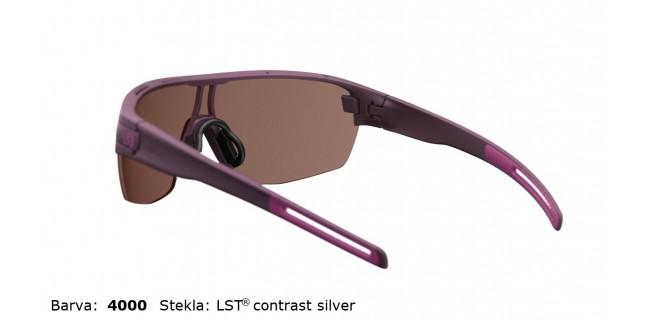 Sportna Ocala Evil Eye Vizor Hr E010 75 4000 Violet Met LST Contrast Silver BG White Back