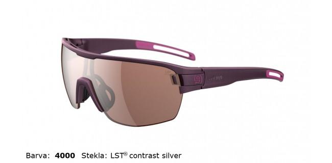 Sportna Ocala Evil Eye Vizor Hr E010 75 4000 Violet Met LST Contrast Silver BG White Sid