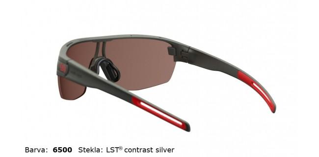 Sportna Ocala Evil Eye Vizor Hr E010 75 6500 Dark Olive Met LST Contrast Silver BG White Back