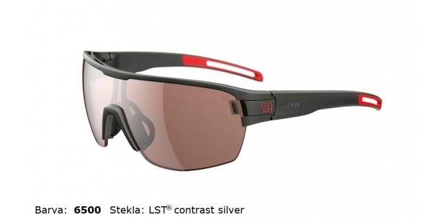Sportna Ocala Evil Eye Vizor Hr E010 75 6500 Dark Olive Met LST Contrast Silver BG White Sid