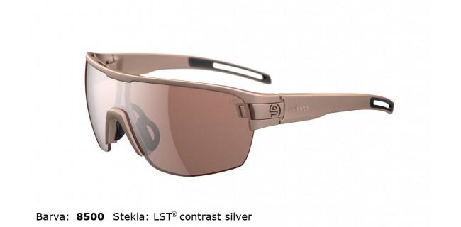 Sportna Ocala Evil Eye Vizor Hr E010 75 8500 Sand Met LST Contrast Silver BG White Sid