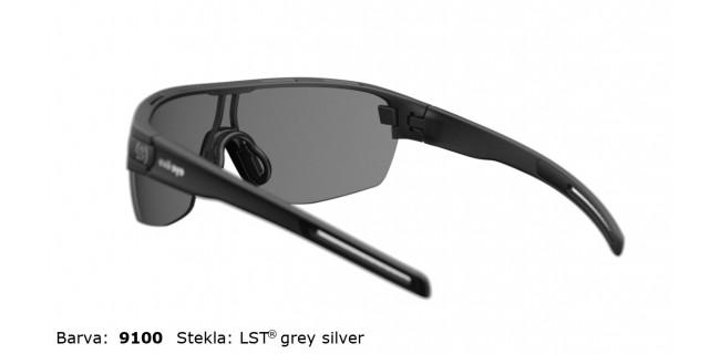 Sportna Ocala Evil Eye Vizor Hr E010 75 9100 Black Matt LST Grey Silver BG White Back
