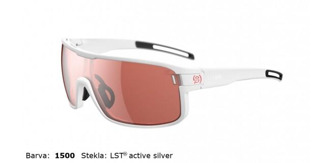 Sportna Ocala Evil Eye Vizor E008 75 1500 White Matt LST Active Silver BG White Sid
