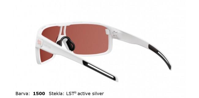 Sportna Ocala Evil Eye Vizor E008 75 1500 White Matt LST Active Silver BG White Back
