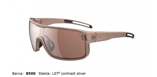 Sportna Ocala Evil Eye Vizor E008 75 8500 Sand Met LST Contrast Silver BG White Sid