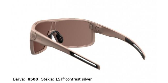 Sportna Ocala Evil Eye Vizor E008 75 8500 Sand Met LST Contrast Silver BG White Back