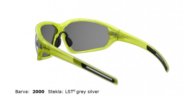 Sportna Ocala Evil Eye Zolid E004 75 2000 Yellow Trans Matt LST Grey Silver BG White Back