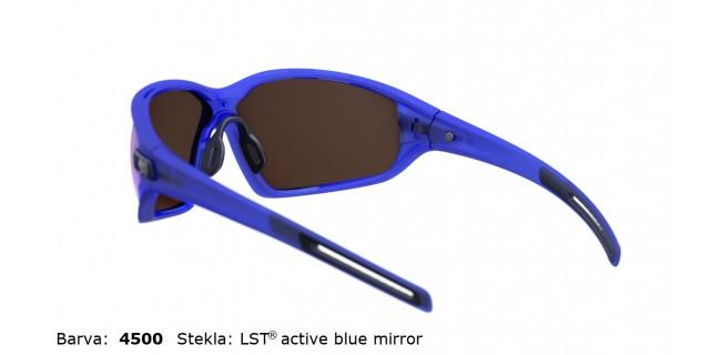 Sportna Ocala Evil Eye Zolid E004 75 4500 EE Blue Transparent Matt LST Active Blue Mirror Back