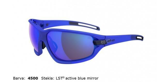 Sportna Ocala Evil Eye Zolid E004 75 4500 EE Blue Transparent Matt LST Active Blue Mirror Side