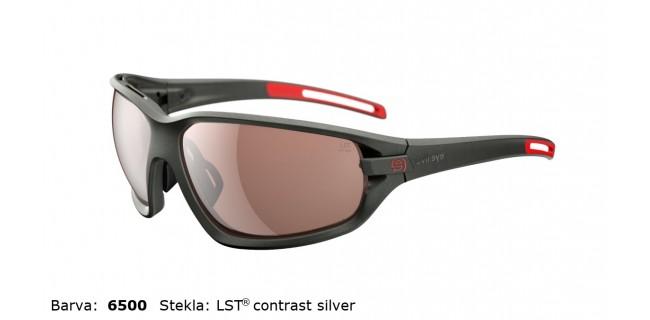 Sportna Ocala Evil Eye Zolid E004 75 6500 Dark Olive Met LST Contrast Silver BG White Sid