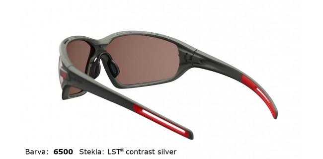 Sportna Ocala Evil Eye Zolid E004 75 6500 Dark Olive Met LST Contrast Silver BG White Back